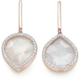 Monica Vinader Naida Lotus Drop Earrings