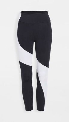 Onzie Asymmetrical Block Leggings