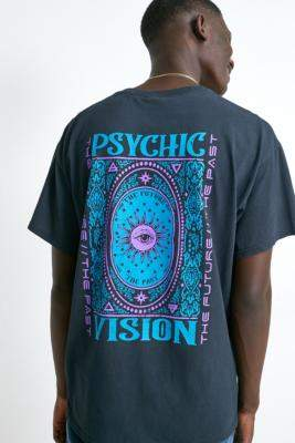 Urban Outfitters Vision Washed Black T-Shirt - black XS at