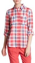 Joe Fresh Long Sleeve Plaid Shirt