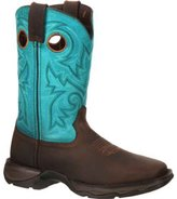 "Durango Western Boots Womens 10"" Rebel Rocker ST 6.5 M Brown DWRD022"
