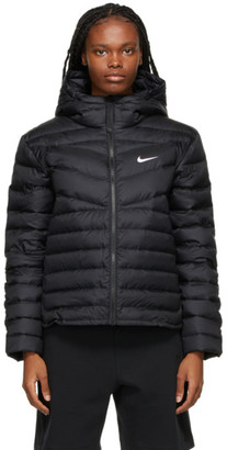 Nike Black Down Quilted Jacket