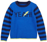 Petit Lem Boys 2-7 Striped Bolt Sweater