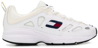 Tommy Jeans Leather Lace-Up Sneakers