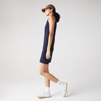 Lacoste Women's Cotton Pique Polo Dress