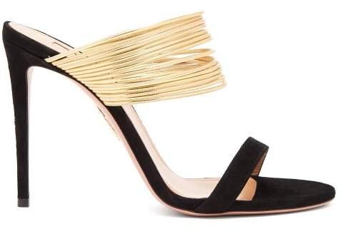 2df898ba6 Aquazzura Gold Women s Sandals - ShopStyle
