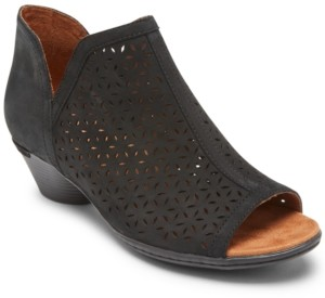 Rockport Women's Ch Laurel Perforated Booties Women's Shoes