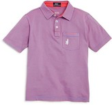 Johnnie-O Boys' Striped Polo Shirt - Sizes 4-16