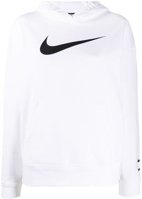 Nike Logo Print Hoodie