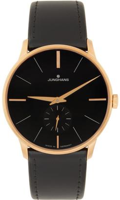 Junghans Black Meister Handaufzug Watch