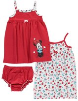 "Disney Minnie Mouse Baby Girls' ""Bold Minnie"" 2-Pack Dresses"