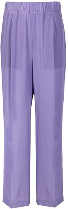 Jejia Pleat-Detailing Flared Trousers