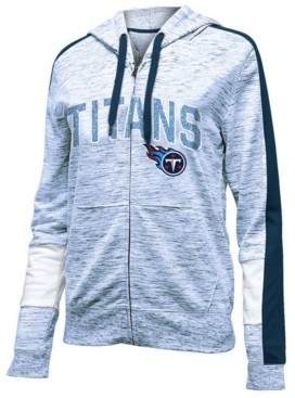 5th & Ocean Women's Tennessee Titans Space Dye Full-Zip Hoodie