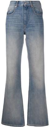 Etoile Isabel Marant Belvira high-rise flared jeans