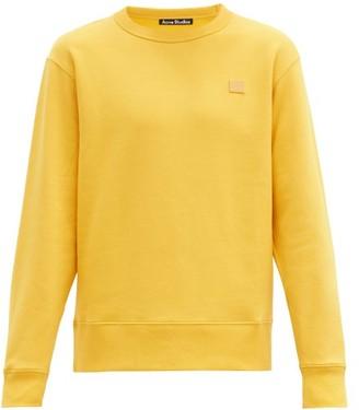Acne Studios Fairview Cotton-jersey Sweatshirt - Yellow