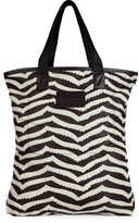 Marc by Marc Jacobs Licorice and White Shopper Bag
