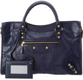 Balenciaga Giant 12 Gold City Leather Shoulder Bag
