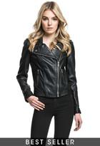 LAMARQUE - Donna Motorcycle Jacket In Black