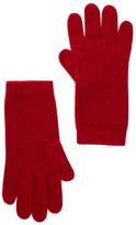 """Portolano Ashton Red 9"""" Cashmere Gloves"""
