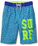 Shark surf board shorts