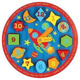 Stephen Joseph Wooden Clock Puzzles - Space