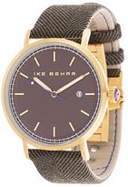 Ike Behar The Herringbone Textured Wool Watch, 41mm