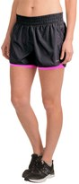Hind Perforated Woven Shorts (For Women)