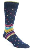 Bugatchi Men's Geometric Socks