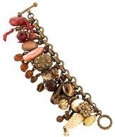 Stephen Dweck Multi-Stone Charm Bracelet