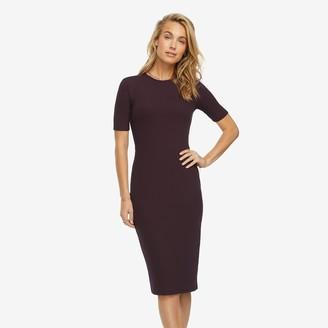 American Giant Short Sleeve Rib Dress