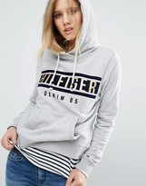 Tommy Hilfiger Logo Hoodie with Metallic Detail