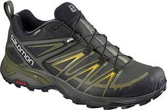 Salomon X Ultra 3 Gtx Men's Hiking Shoes Castor Grey/Beluga/Green Sulphur Sz 9