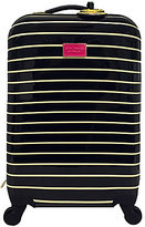 "Betsey Johnson 22"" Water Dots Carry-On Upright Spinner"