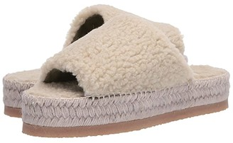 MM6 MAISON MARGIELA Sherpa Espadrille Sandal (Speedpearl) Women's Shoes