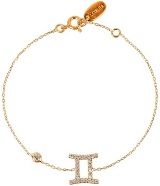 Latelita Zodiac Horoscope Star Sign Bracelet Gemini Gold