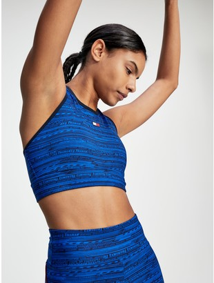 Tommy Hilfiger High Support Printed Sports Bra