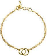 Dogeared VGB171-06 Friendship Linked Ring Chain Bracelet