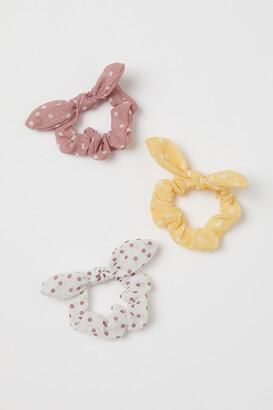 H&M 3-pack Scrunchies