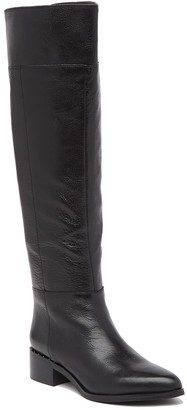 Franco Sarto Daya Leather Knee-High Boot
