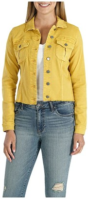 KUT from the Kloth Kara Jacket (Mustard) Women's Clothing