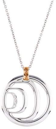 Damiani 18K Diamond Pendant Necklace