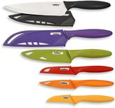 Zyliss 6-Piece Stainless Steel Knife Set with Blade Covers