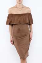 Towne Ultra Suede Dress