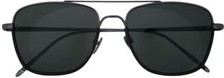 Linda Farrow Aviator Frame Sunglasses