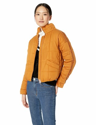 AVEC LES FILLES Women's Curpo-Feel Quilted Flight Jacket