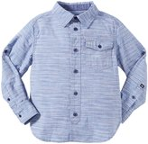 Buffalo Slub Woven Shirt (Kid) - Oyster Blue-4