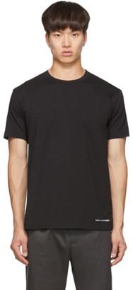 Comme des Garçons Shirt Black Logo Hem T-Shirt