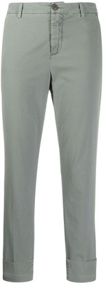 Closed Slim-Fit Tailored Trousers