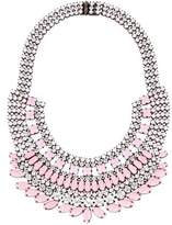 Tom Binns Neopolitano Crystal Collar Necklace