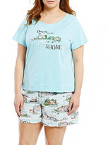 Sleep Sense Plus Down By The Shore Jersey Sleep Top